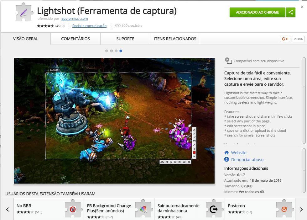 extensoes-para-google-chrome-lightshot