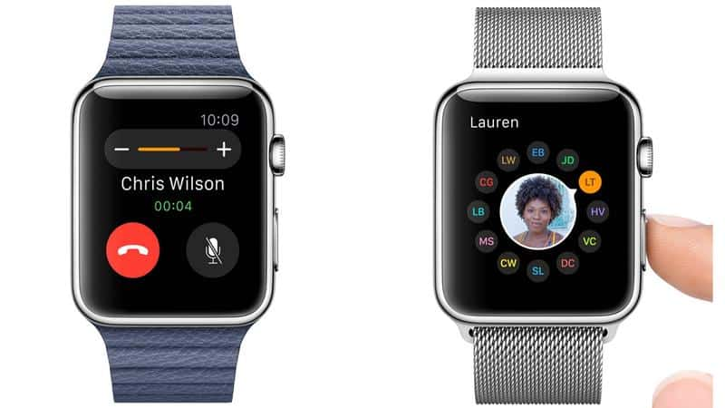 Answer phone calls things to do with the Apple Watch