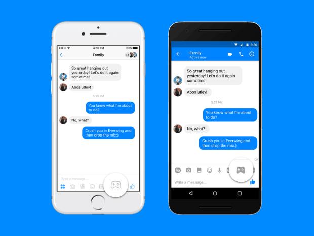 pac-man-facebook-messenger