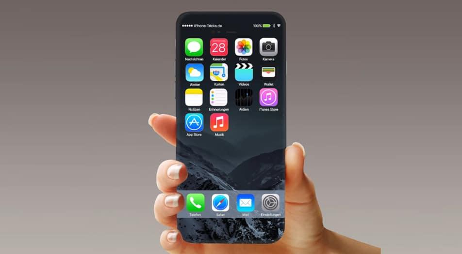 rumores do iPhone 8 redesign