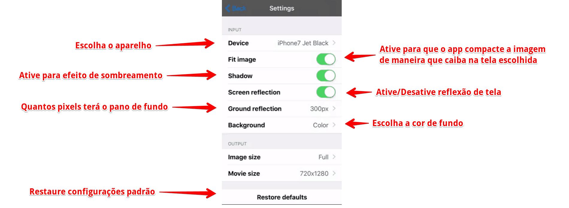 capturas-de-tela-para-app-store-configuracoes