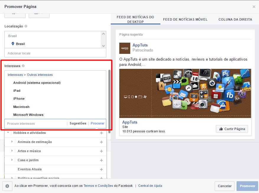 facebook-ads-interesses