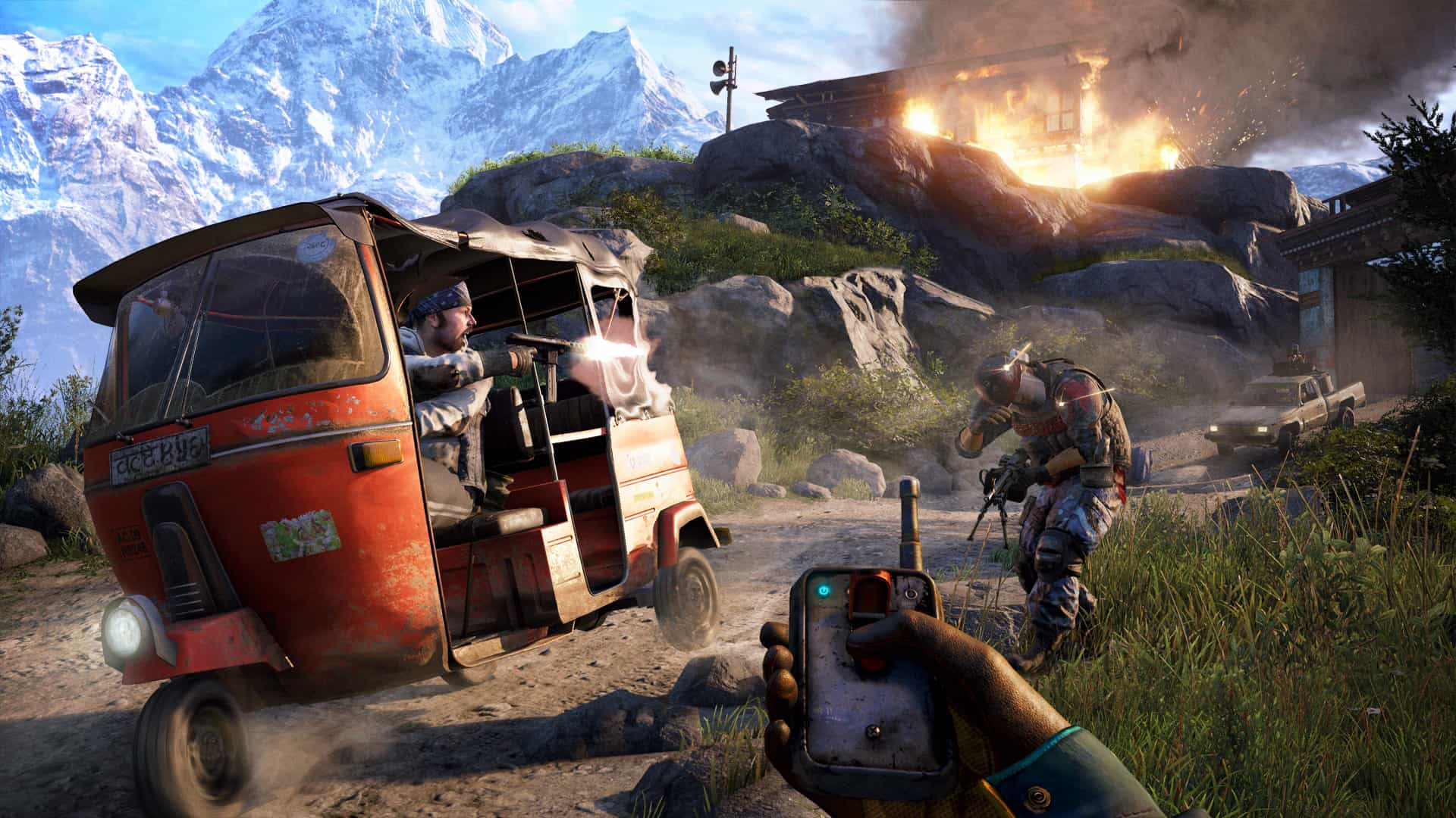 gameplay screen of far cry 4