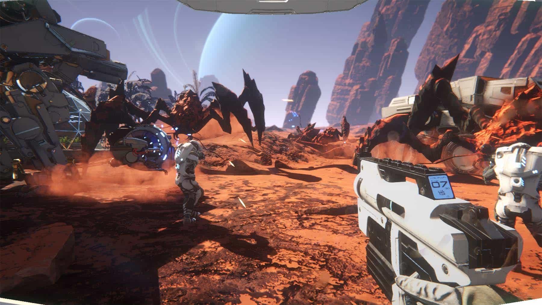 osiris gameplay screen