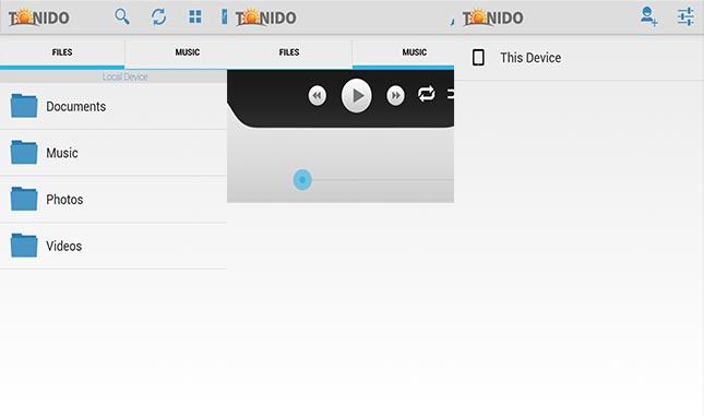 como fazer streaming do pc para android tonido