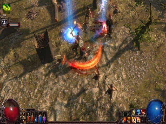jogos gratuitos no steam path of exile