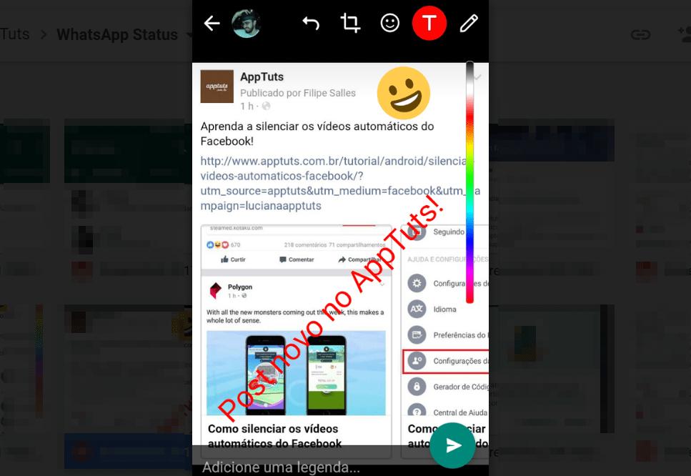 whatsapp-status-texto