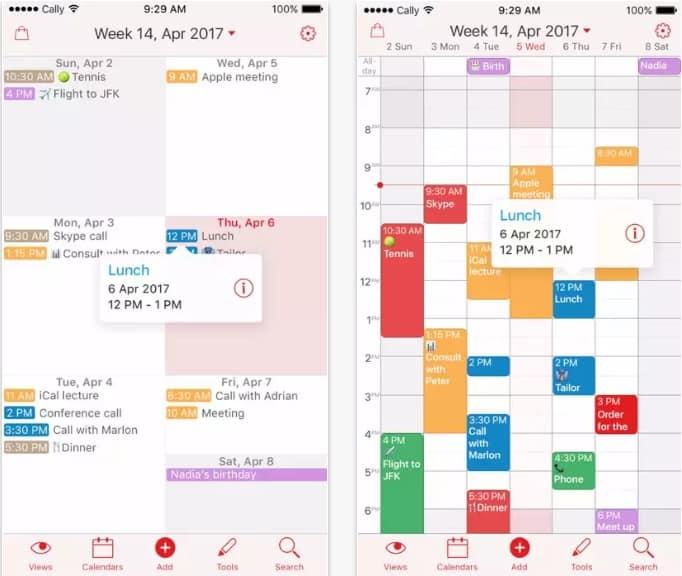 aplicativos-de-agenda-week