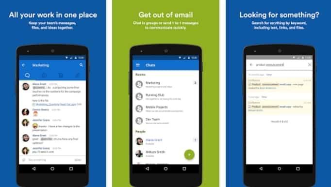 apps para gerenciamento de equipes hipchat