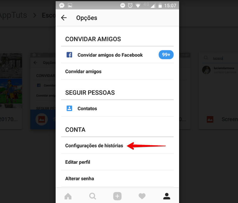 esconder-instagram-stories-configuracoes