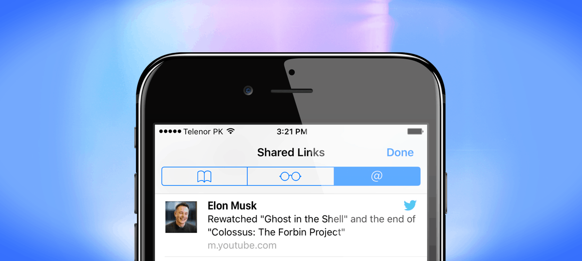 navegador-do-iphone-links