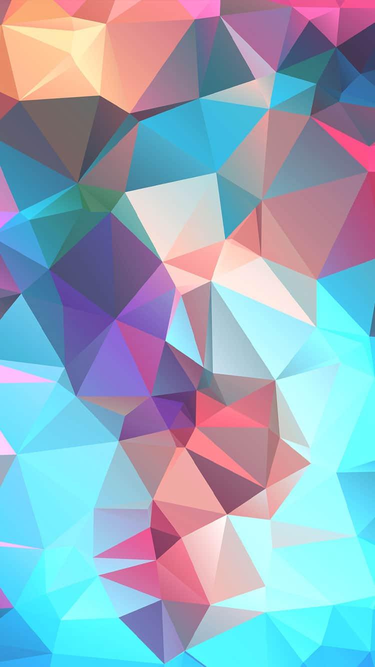 poligos coloridos