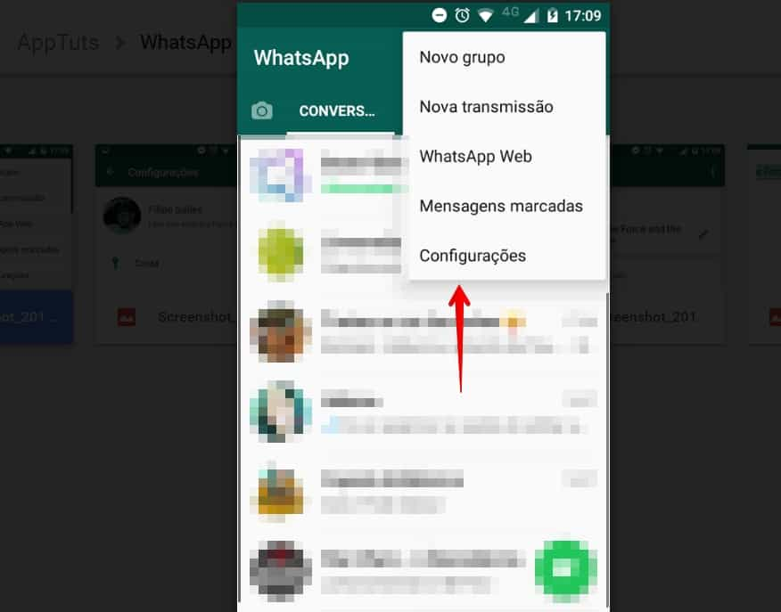 status-do-whatsapp-antigo-configuracoes