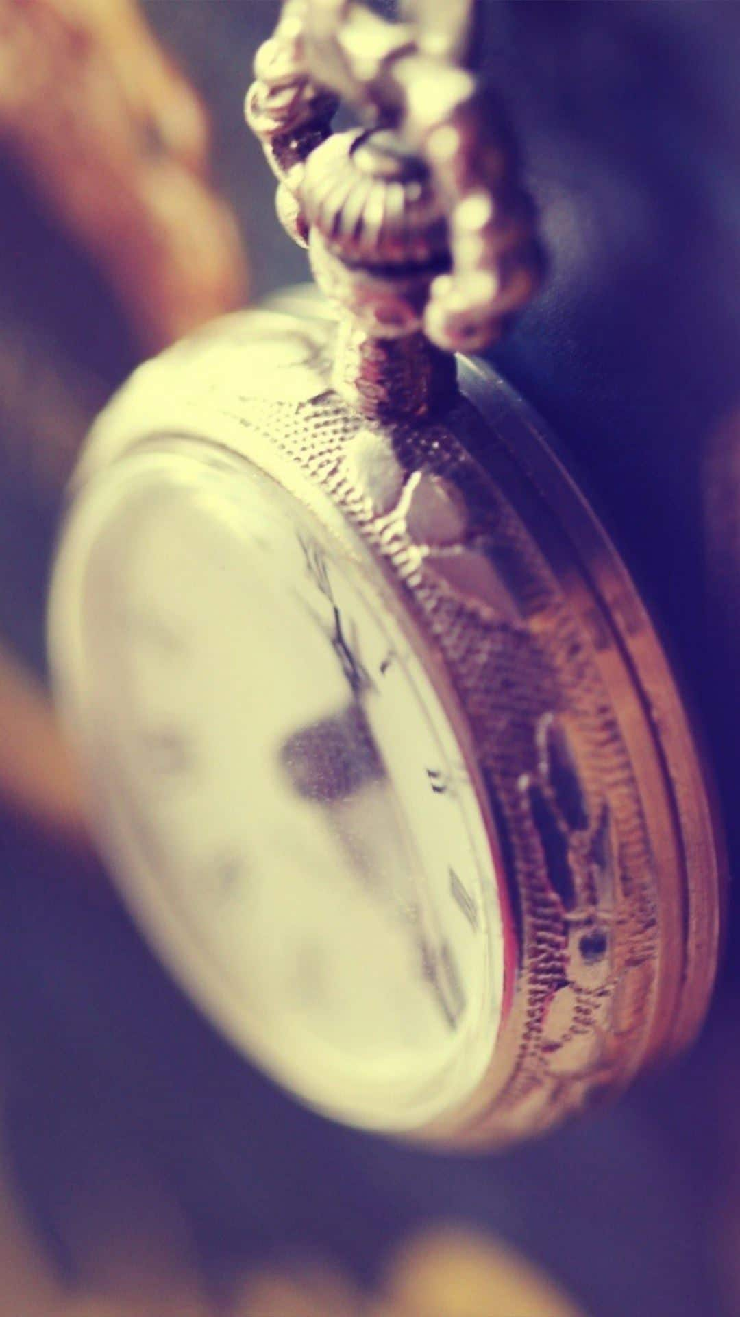 Antique Pocket Watch Android Wallpaper