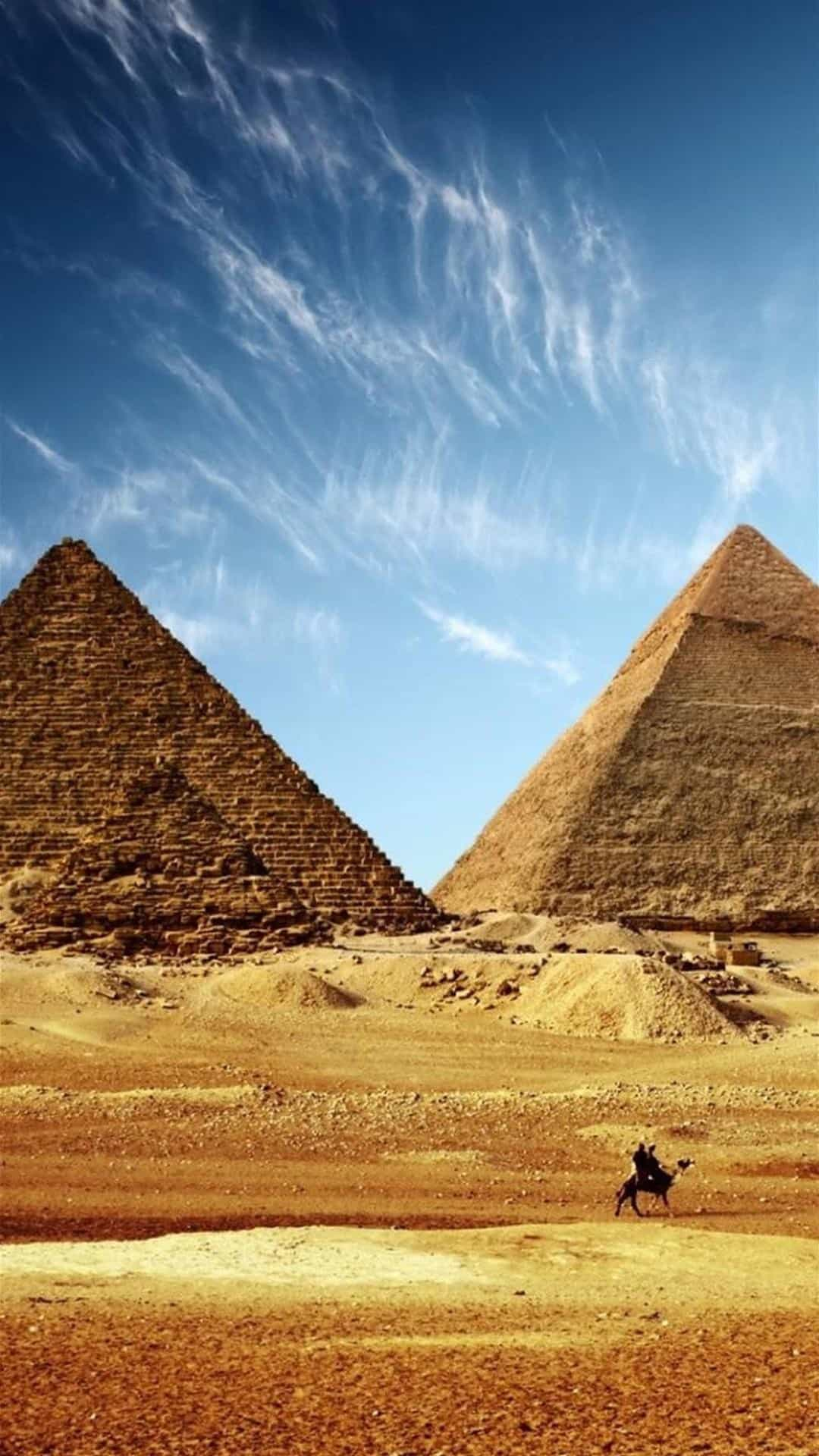 Great Pyramid of Giza Egypt Android Wallpaper