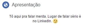 biografias para facebook linkedin