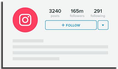 bloquear no instagram seguir
