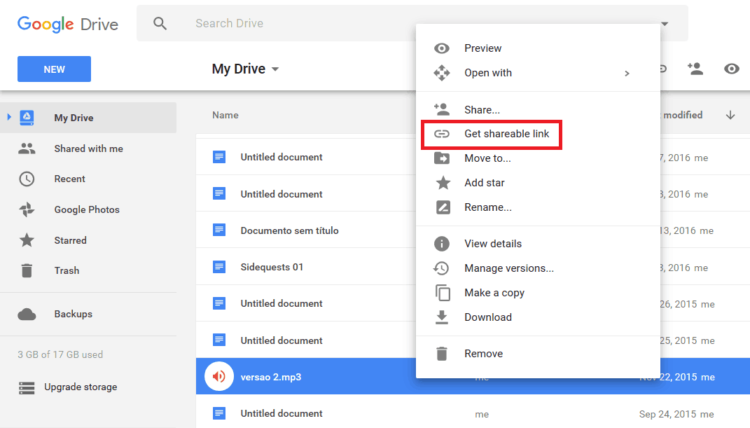 download no google drive