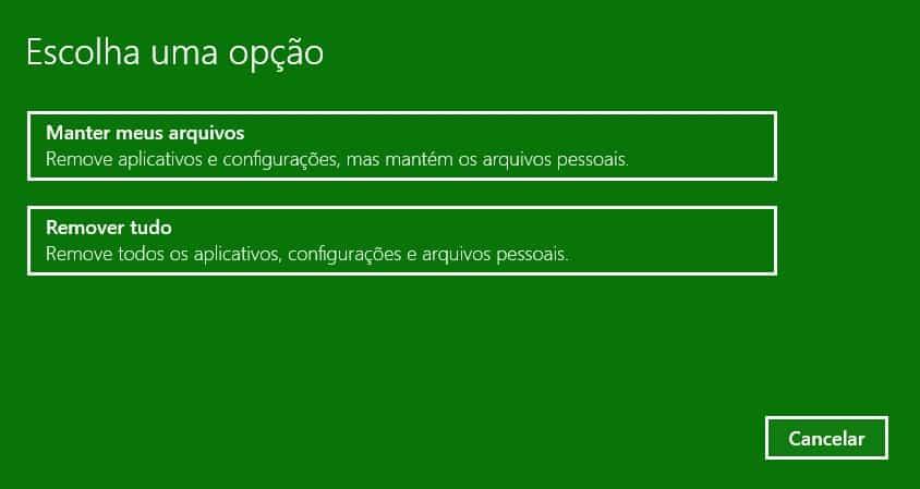 formatar-o-windows-10-opcoes