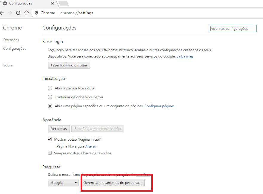 fazer pesquisas no google drive gerenciar