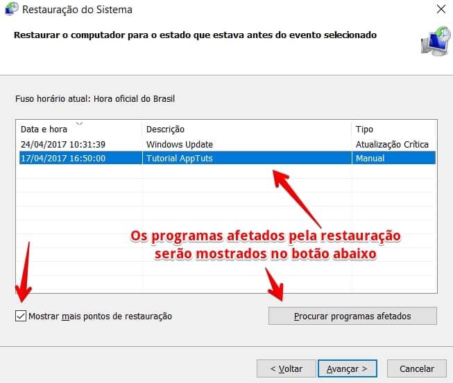 restaurar-windows-10-selecionar