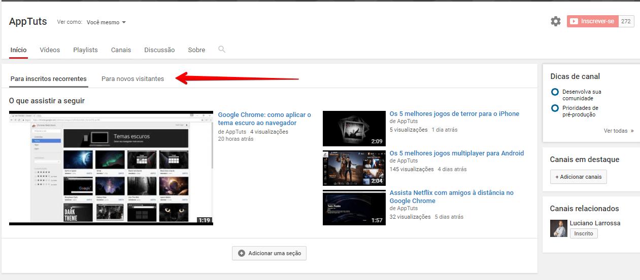 organizar-canal-do-youtube-novos