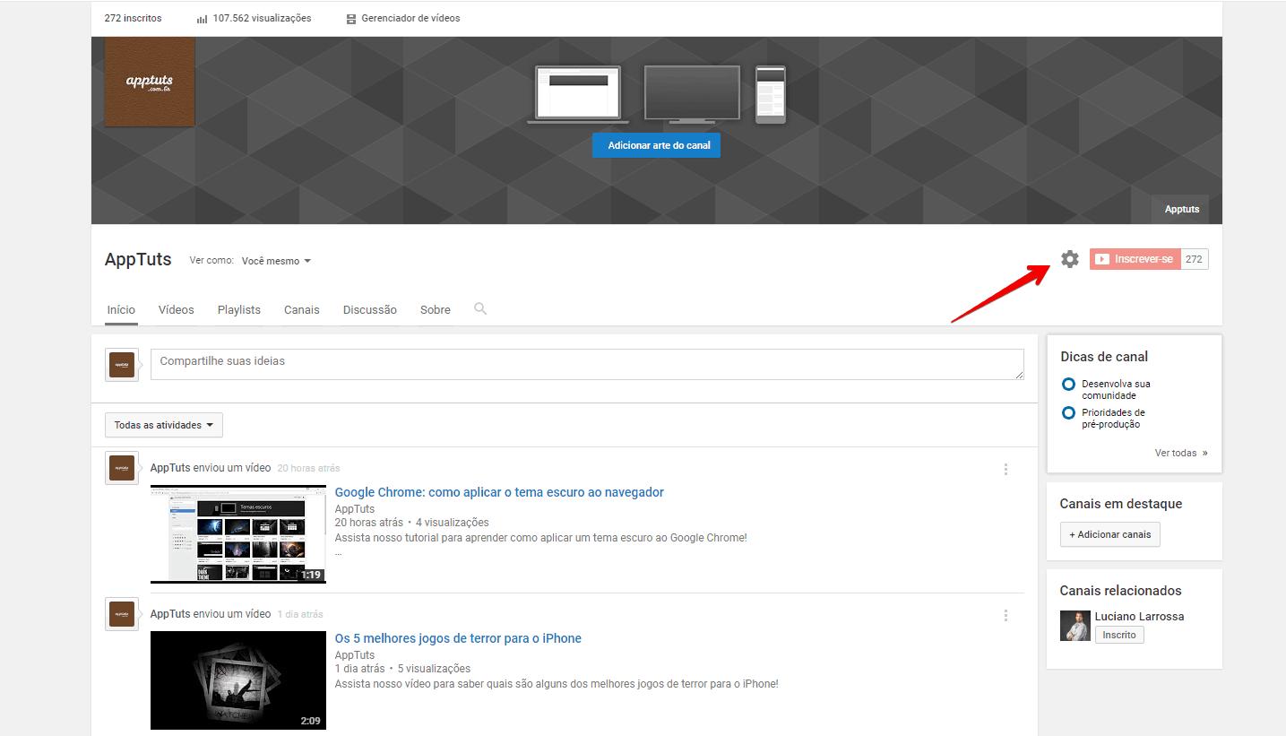 organizar-canal-do-youtube