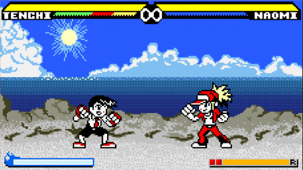 pocket rumble remember us of fighting games on game boy