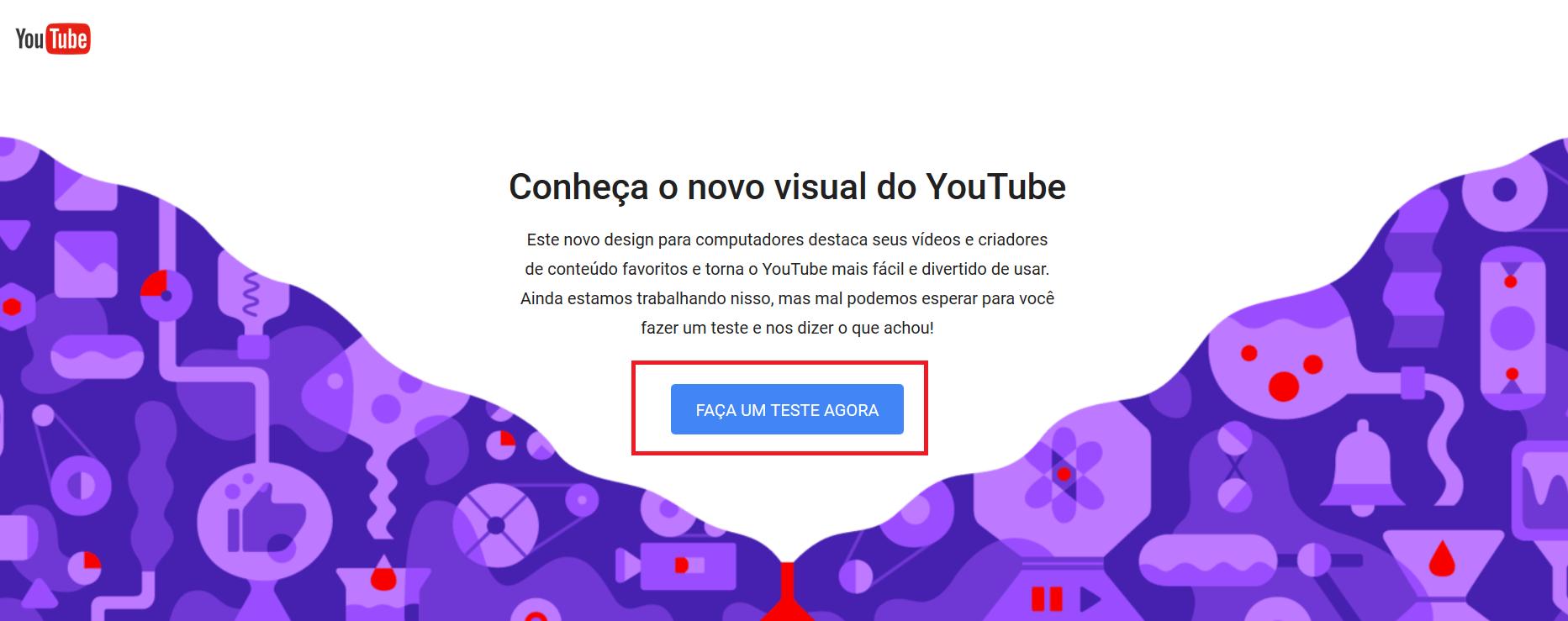 teste youtube