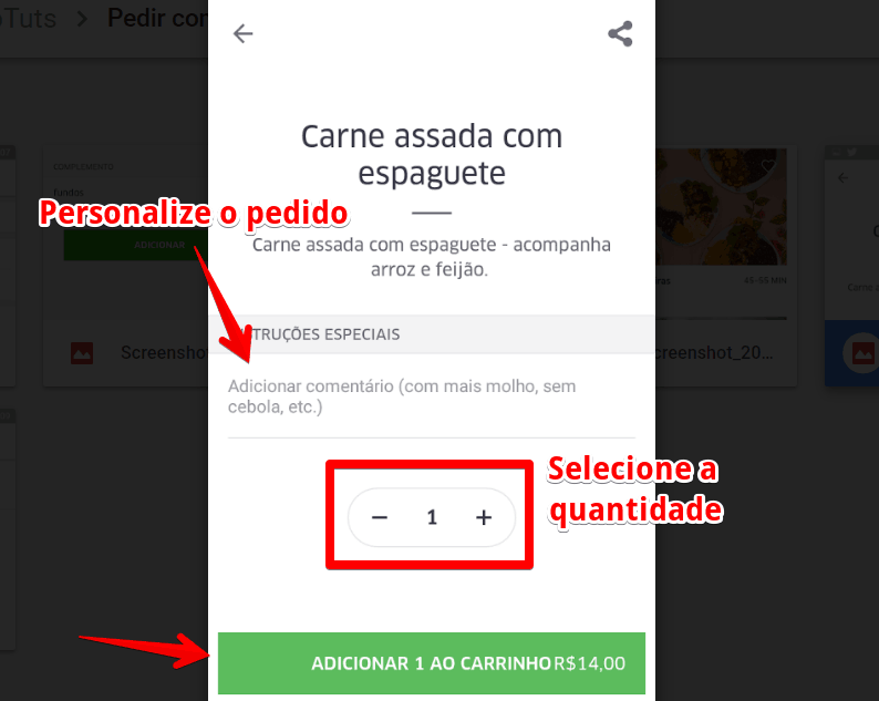 UberEats_carrinho