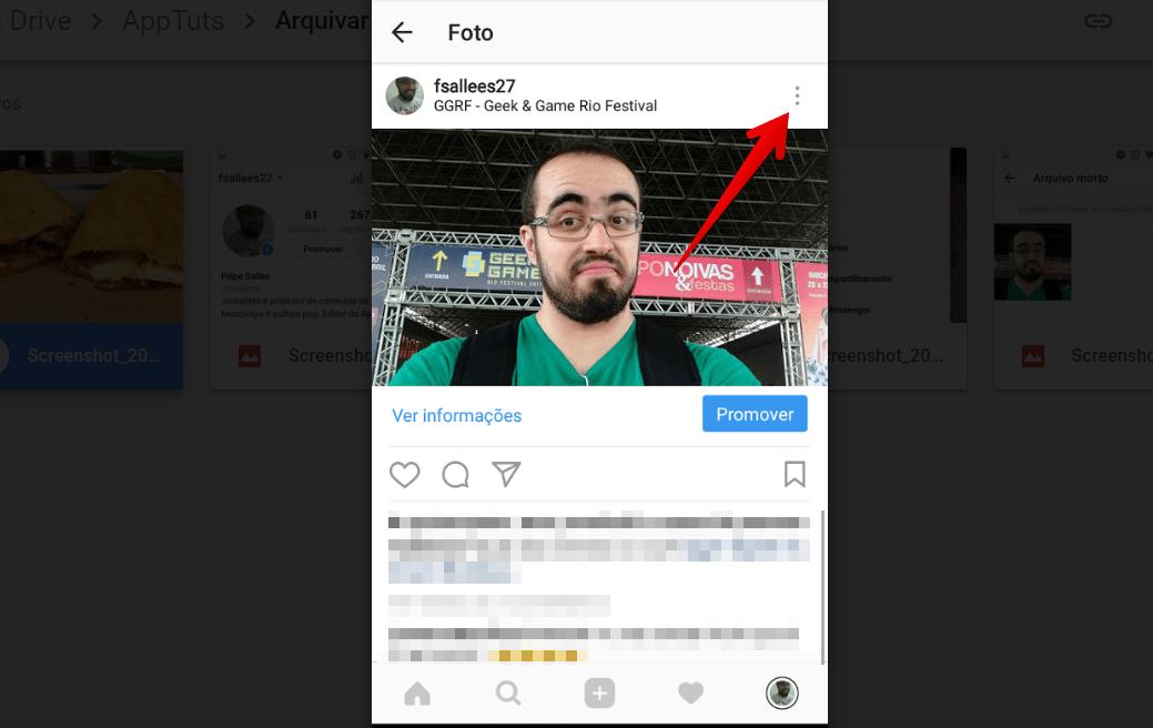 arquivar-posts-do-instagram-foto