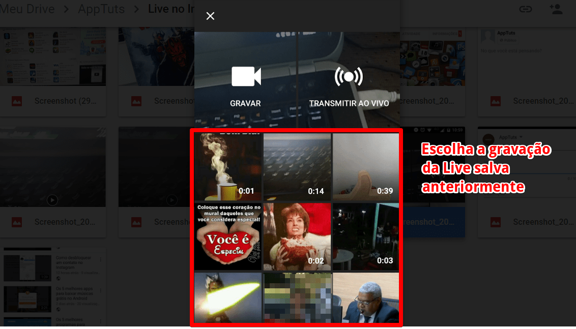live-do-instagram-no-youtube-selecionar