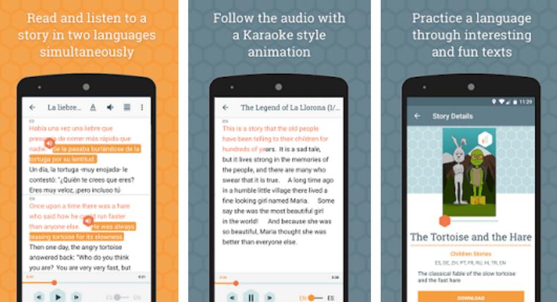 aplicativos-para-audiolivros-beelinguapp