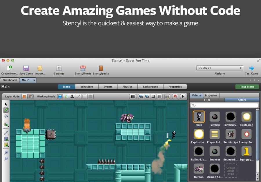aplicativos-para-criar-jogos-stencyl