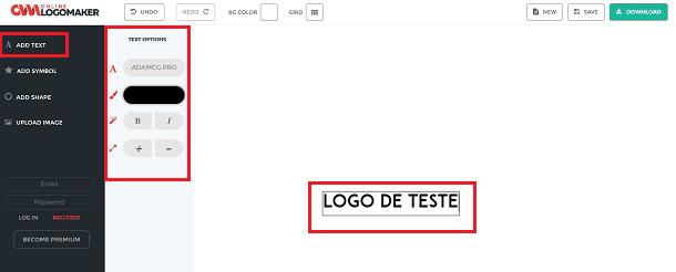 logo texto