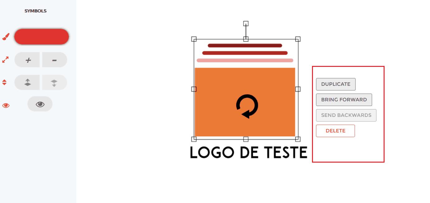 redimensionar logo