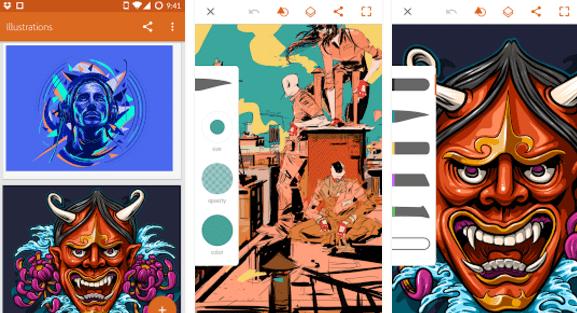 aplicativos-para-desenhar-no-android-illustrator
