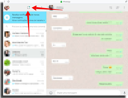 colocar link no status de whatsapp ver