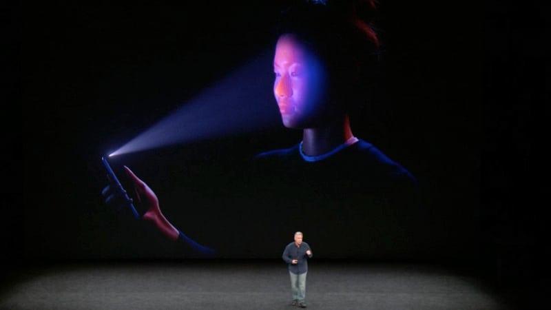 iphone x reconhecimento facial