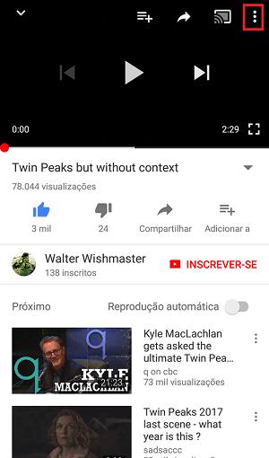 opções youtube