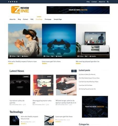 temas-wordpress-reviewzine