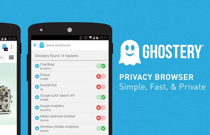 apps de seguranca ghostery