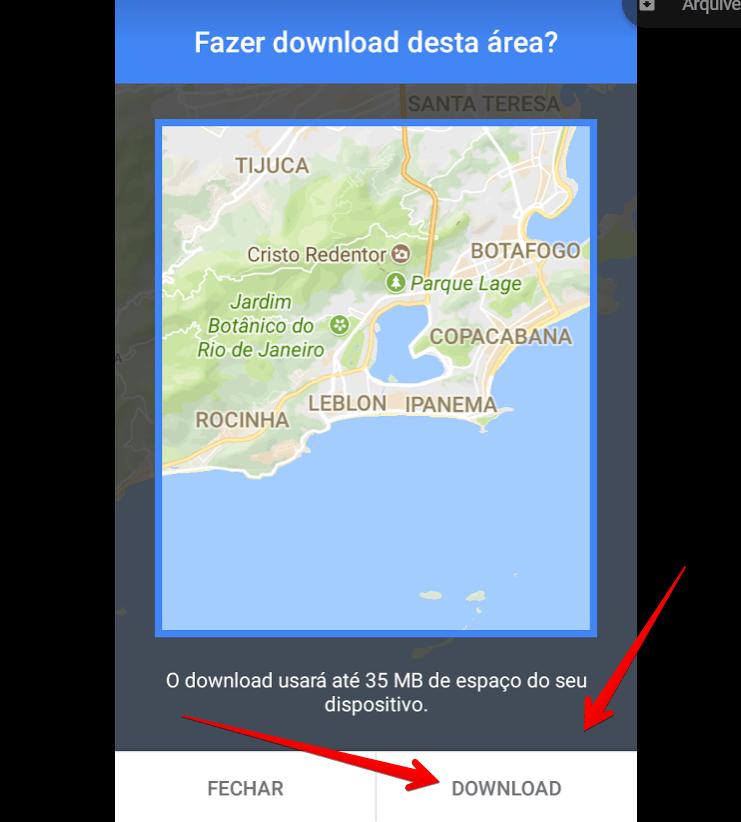 Como baixar mapa no Google Maps para usar offline | AppTuts