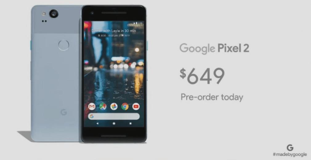 google-pixel-2-preco