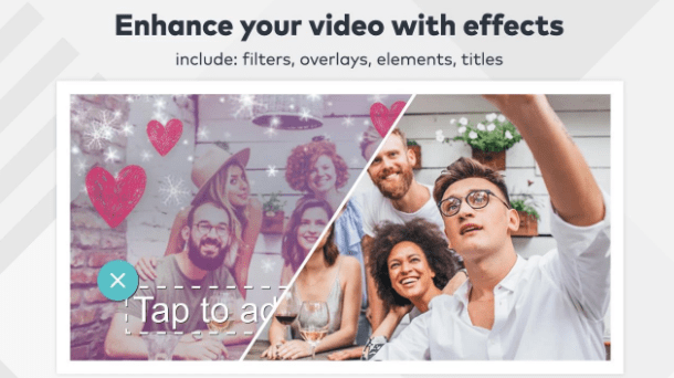 transformar fotos em videos filmora go
