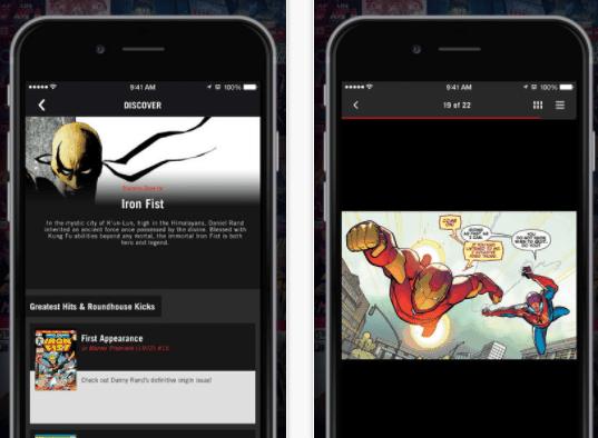 aplicativos-para-ler-marvel