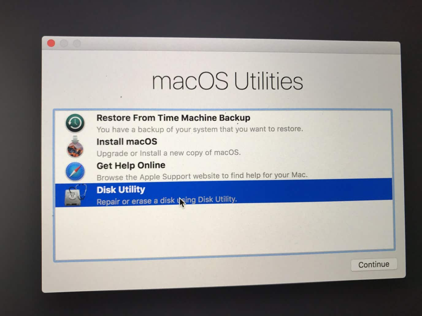 Mac won't boot up after the update common MacOS High Sierra problems