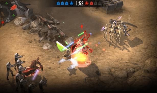 jogos competitivos no Android forcearena