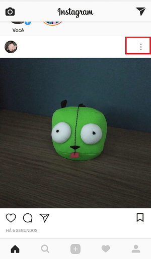 postar no instagram