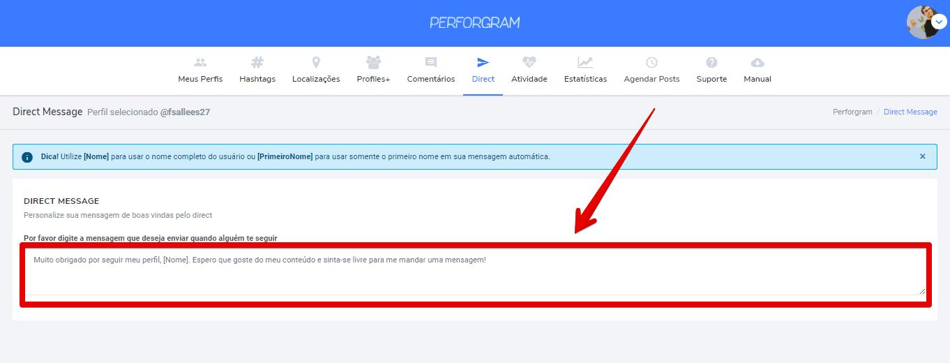 usar-o-perforgram-inserirdirect